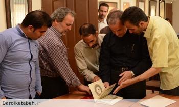 ششمین کارگاه تخصصی خط نسخ و ثلث دارالکتابه برگزار شد.